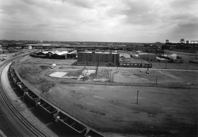 Platte Valley rail yards in 1999. Ewing Photography