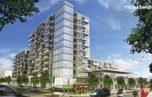 Rendering of the Sloan Lake Condo project. Image courtesy NAVA