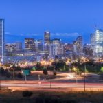 denverskyline downtowndenver architecture construction twilight longexposure denver milehighcity 303 coloradohellip