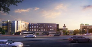 Rendering of the Westin Greenwood Village. Image courtesy Arrival Partners.