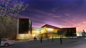 Rendering of Denver First Church. Courtesy The Beck Group.