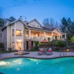 Photographed this Denver home last night gorgeous property denver coloradohellip