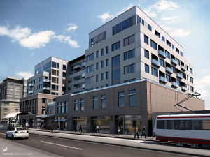 Rendering of planned 2560 Designed by Craine Architecture.
