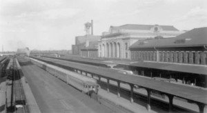 Denver Union Station in 1941. Photograph courtesy Denver Public Library.