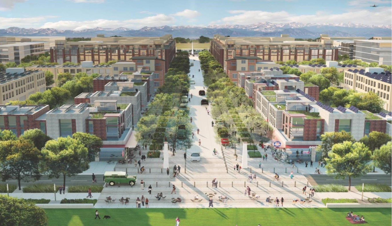 New East Line Station With Transit Oriented Development Denver Urban Review