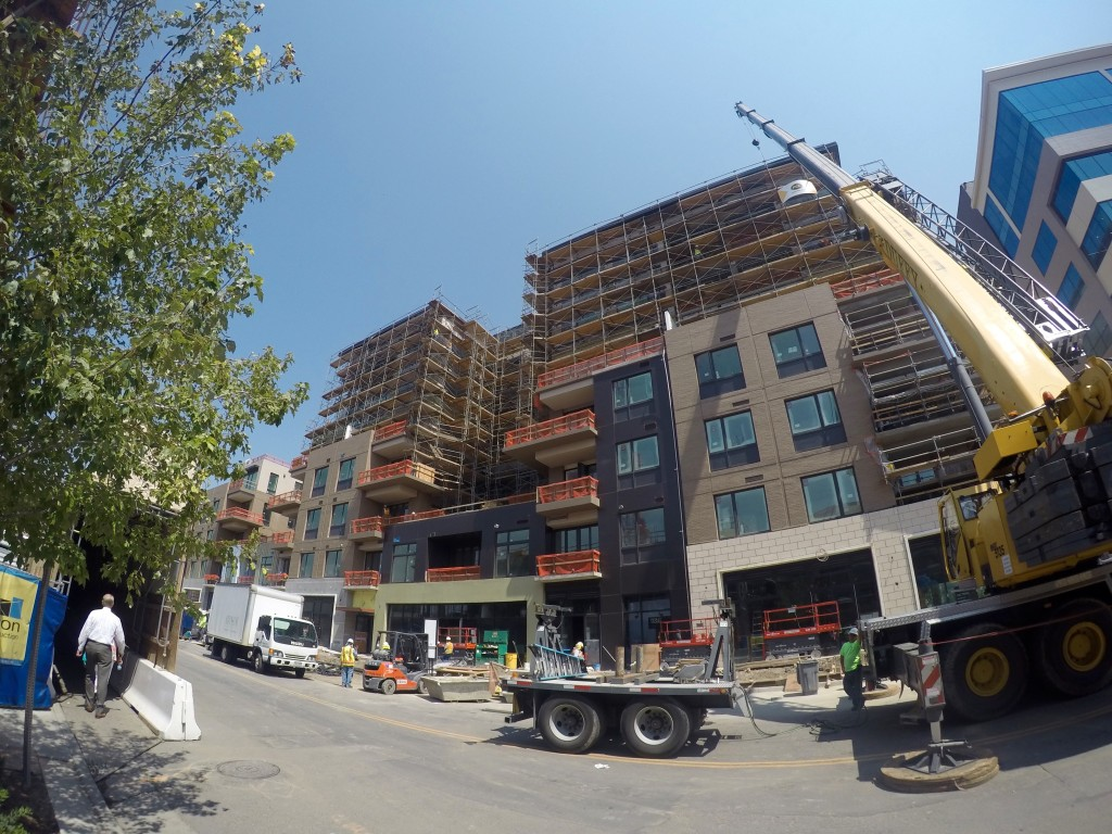 Cherry Creek construction