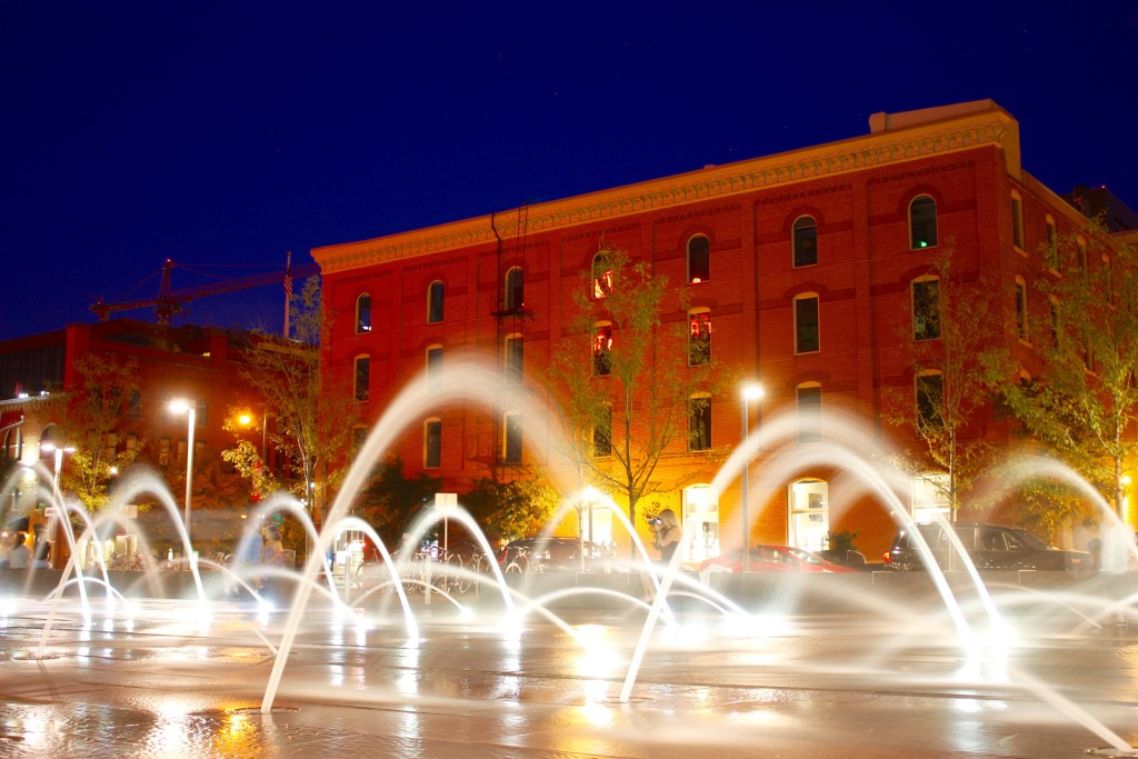 Denver fountains