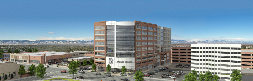 Denver Health rendering