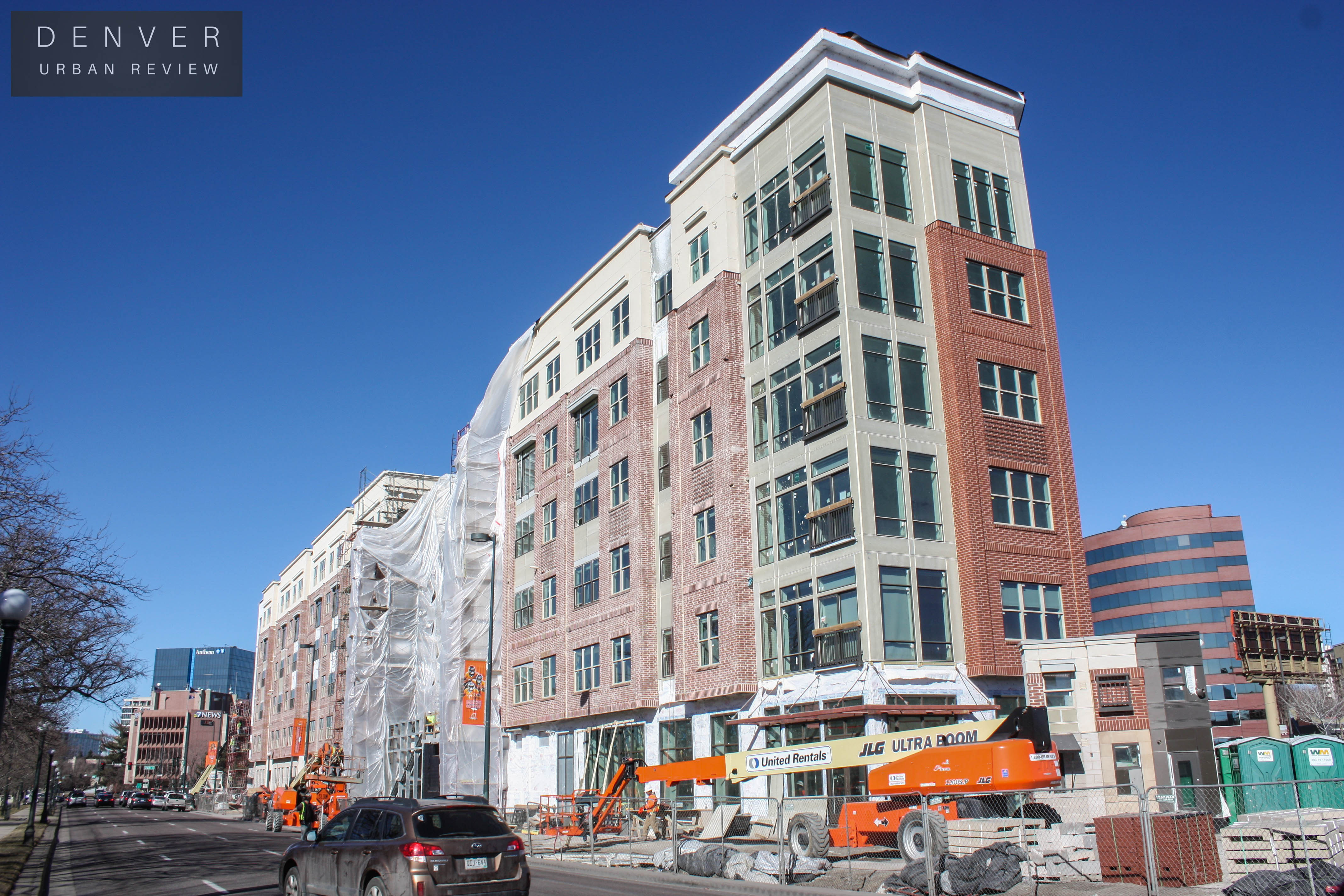 Denver construction update February Denver Urban Review