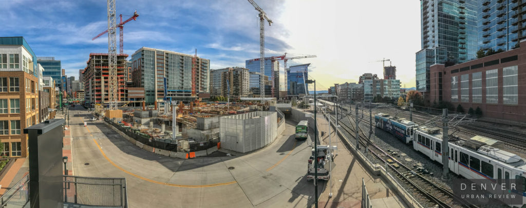 Denver Union Station Construction