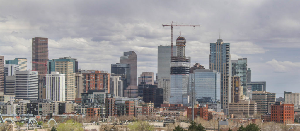 Denver Skyscraper construction