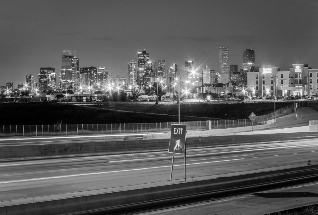 Denver black and white