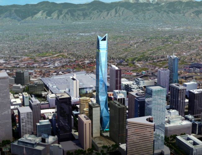 Denver Skyscraper rendering