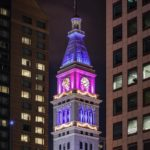 DampF Tower Denver highrise downtowndenver denver denvernights architecture denverafterdark skyscraperhellip