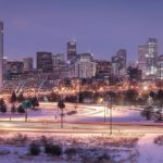 Captured this one Saturday night denver downtowndenver architecture skyline denverskylinehellip