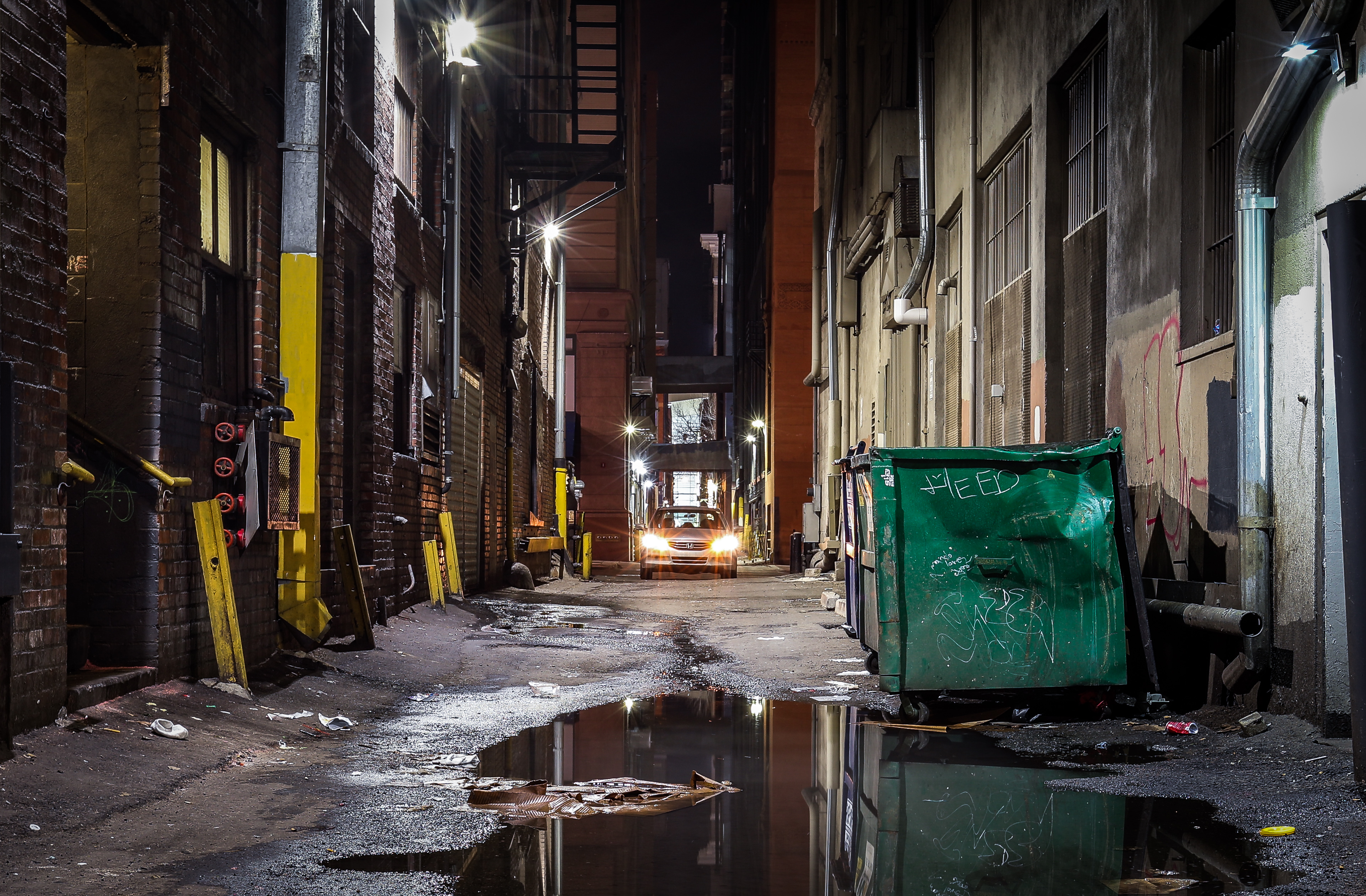 Downtown Denver Alley